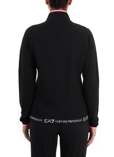 Emporio Armani  Dik Yaka Cepli Fermuarlı Sweat Kadın Sweat S 3Gtm65 Tju6Z 1200 Siyah